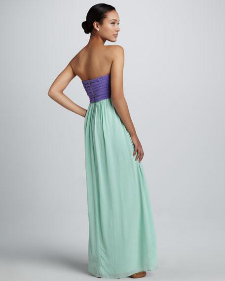 Mariah Colorblock Maxi Dress