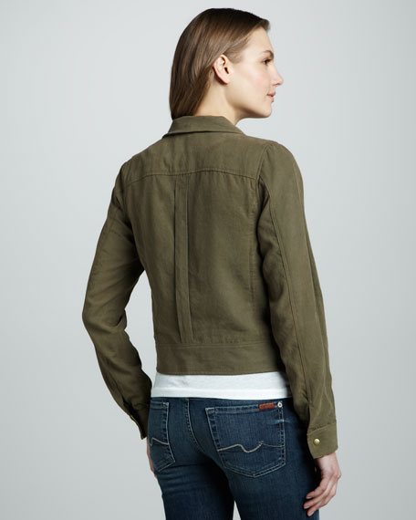 Canvas Zip Jacket