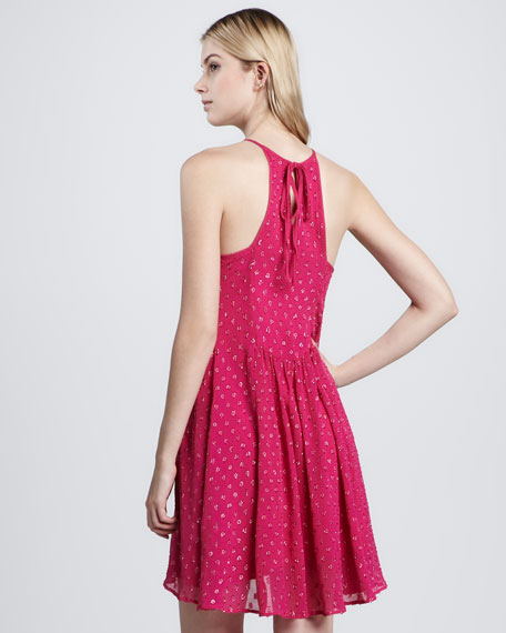 Lucie Embroidered Dress