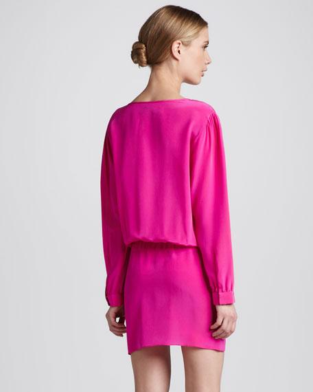 Foxy Tie-Front Dress