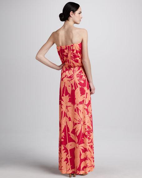 Zane Floral-Print Maxi Dress