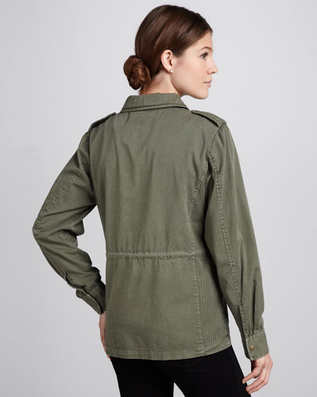 Ruby Army Jacket