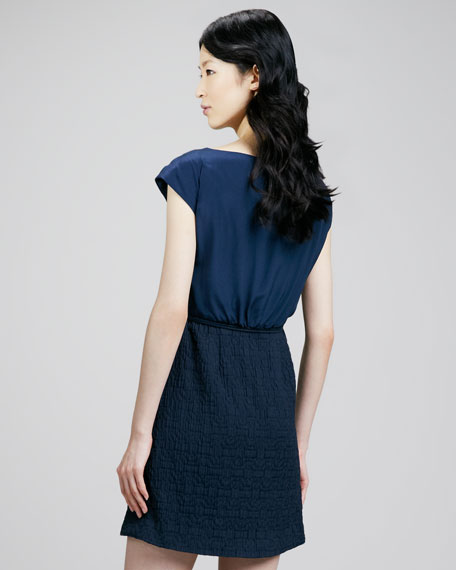 Winona Satin-Top Dress