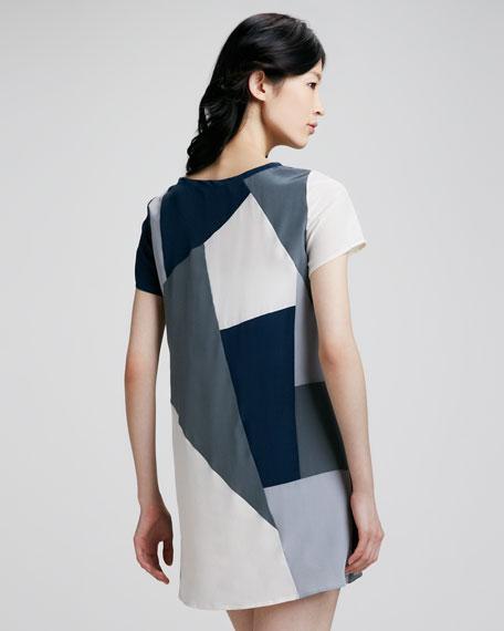 Bowery Printed Shift Dress