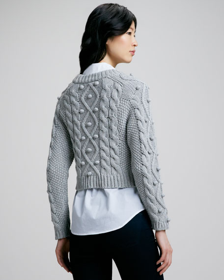 Blake Cable-Knit Sweater