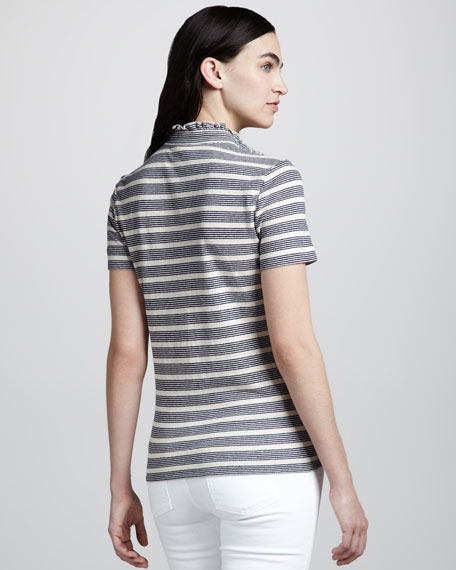Lidia Striped Polo