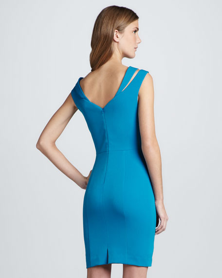 Analisa Slit-Shoulder Dress