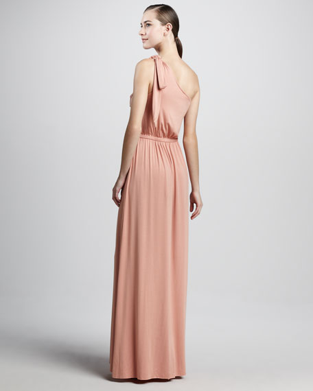 Felix One-Shoulder Maxi Dress