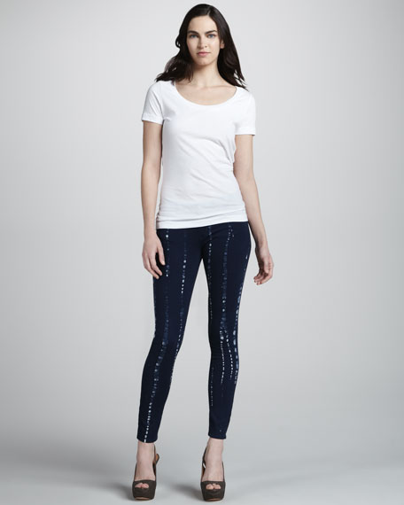 Verdugo Skinny Batik Jeans, Summer Night