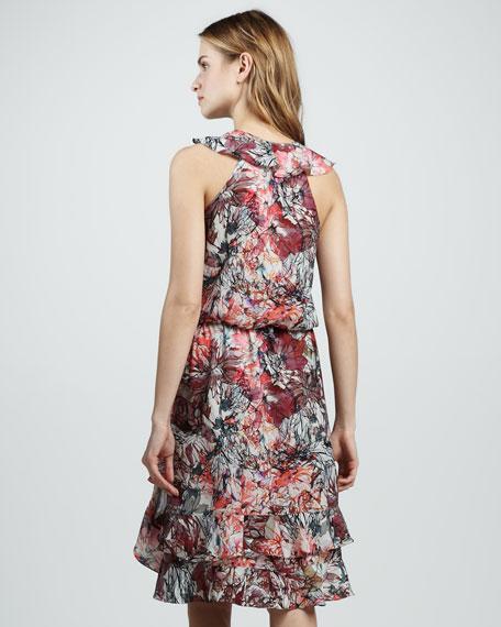 Narula Ruffle-Hem Dress