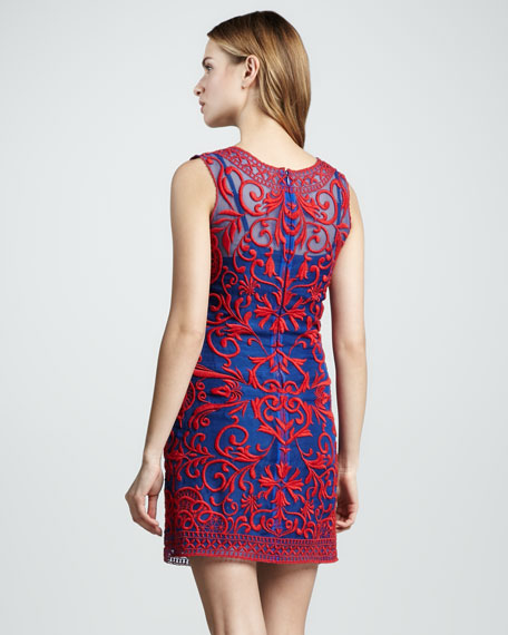 Amlie Applique Tank Dress