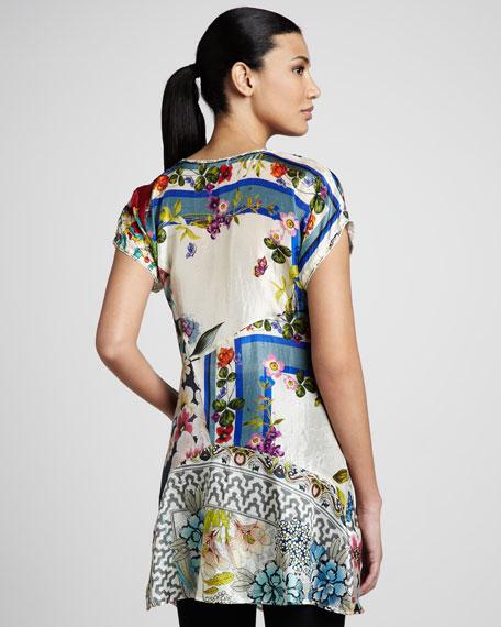 Patchwork-Print Tunic