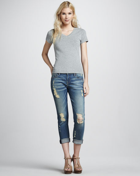 Brooks Dangerous Wash Boyfriend Jeans