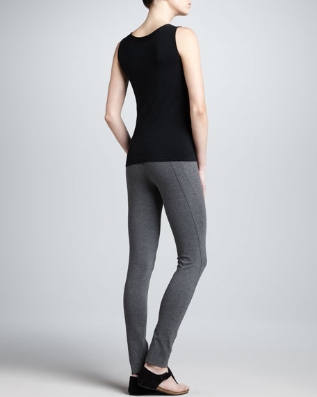Seamed Stretch Leggings