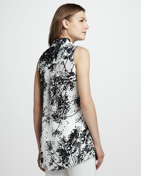 Geri II Printed Sleeveless Shirt