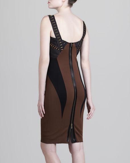 Embellished Bustier Dress