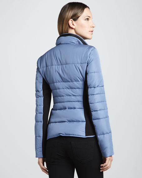 Demsy Colorblock Puffer Jacket