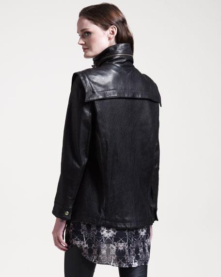 Maali Nuno Leather Jacket