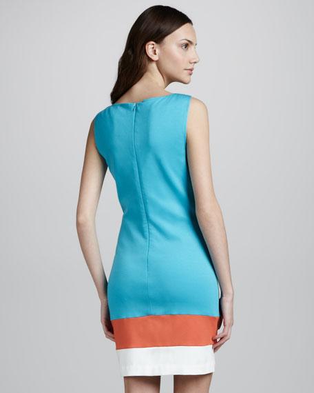 Cheer Sleeveless Shift Dress