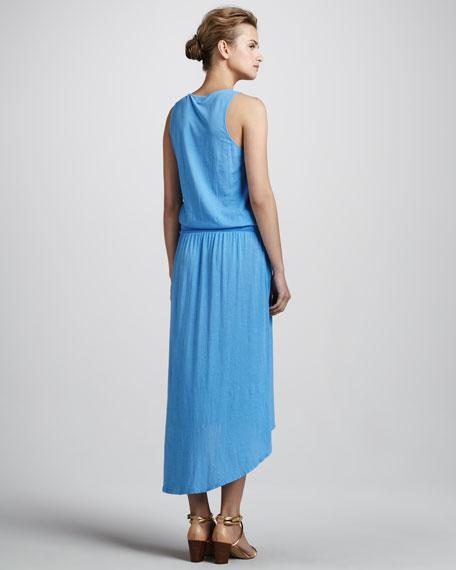 Calmi Sleeveless Hi-Lo Dress