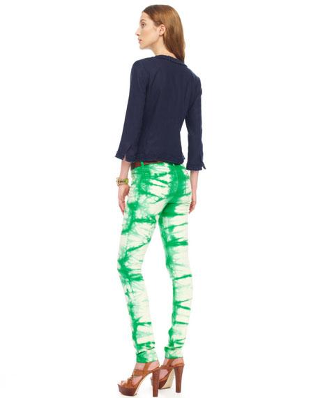 Tie-Dye Skinny Jeans