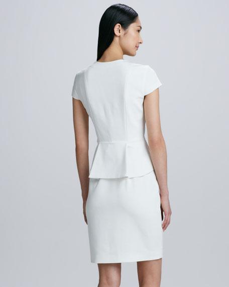 Jasper Peplum Sheath Dress