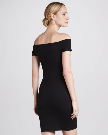Naomi Off-the-Shoulder Dress