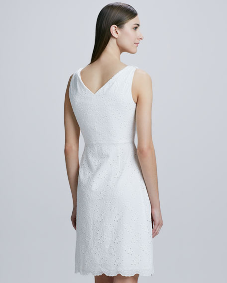 Reilla Eyelet Lace Dress