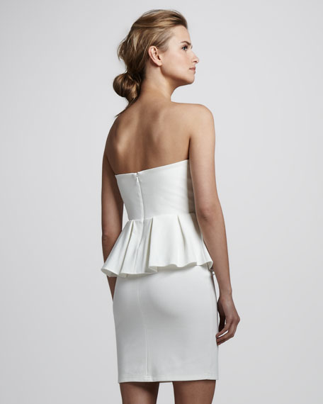 Spirit Strapless Peplum Dress
