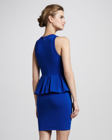 My Soft Ponte Peplum Dress