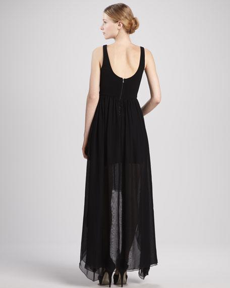 Liz Hi-Lo Maxi Dress
