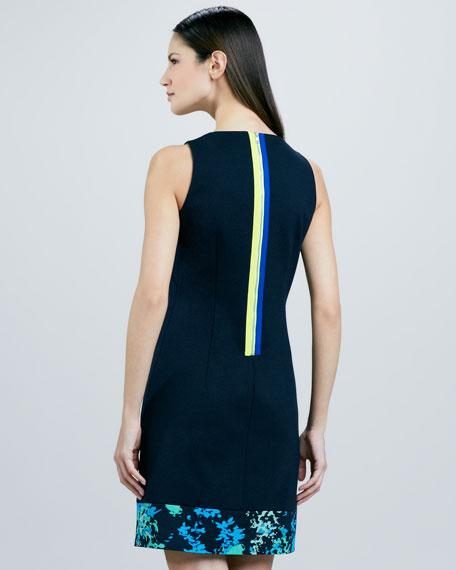 Fran Print-Hem Dress, Women's