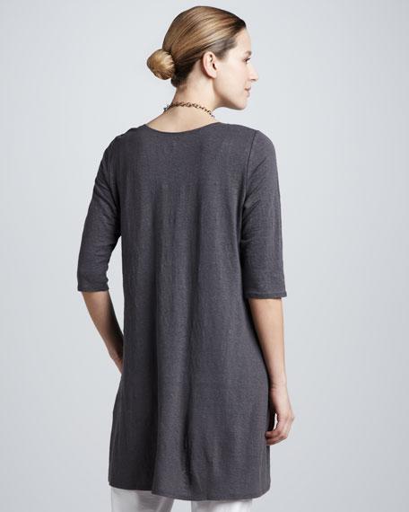 Linen Jersey Layering Tunic, Women's
