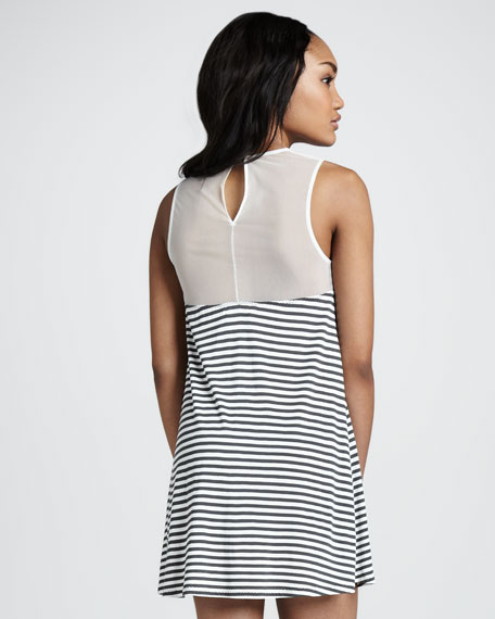 Haven Odiele Illusion Dress