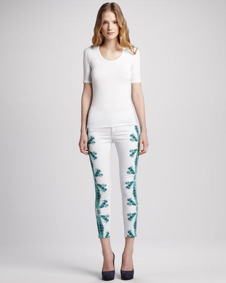 Palm Beach High Water Jeans