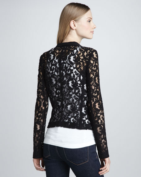 Sheer Lace Jacket