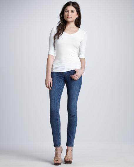 811 Mid-Rise Skinny Leg Jeans