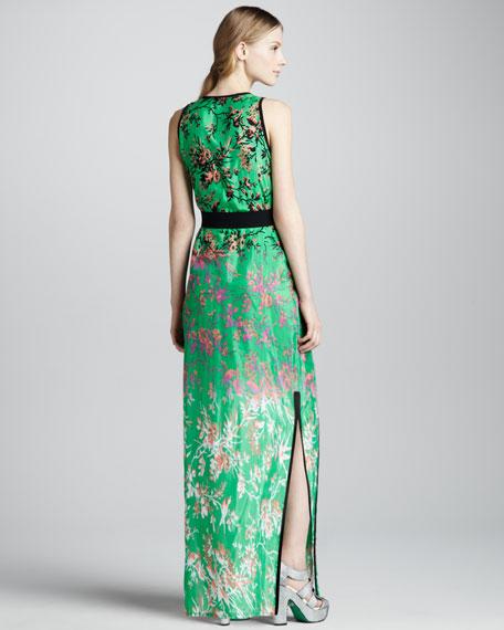 Candy Raver Floral-Print Maxi Dress