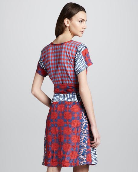 Molly Mix-Print Cotton Dress