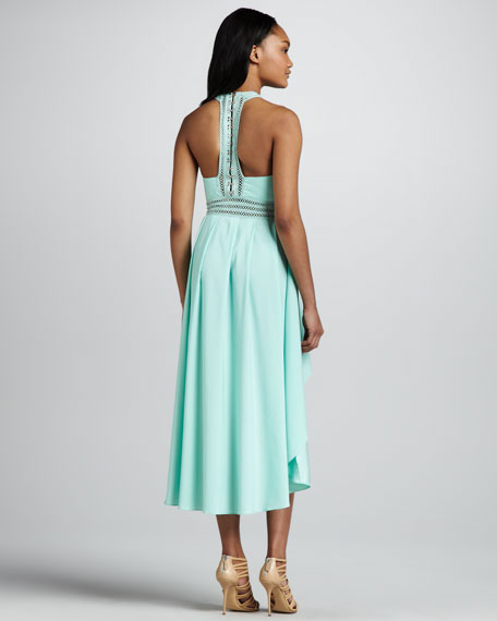 Angelina High-Low Racerback Dress