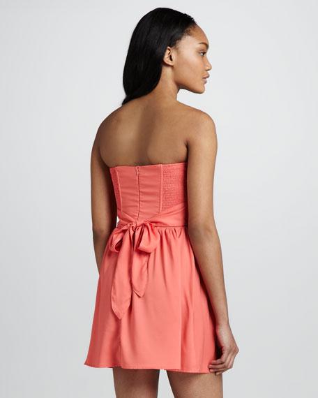 Margarita Strapless Mini Dress