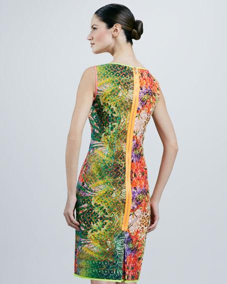 Claudia Printed Dress