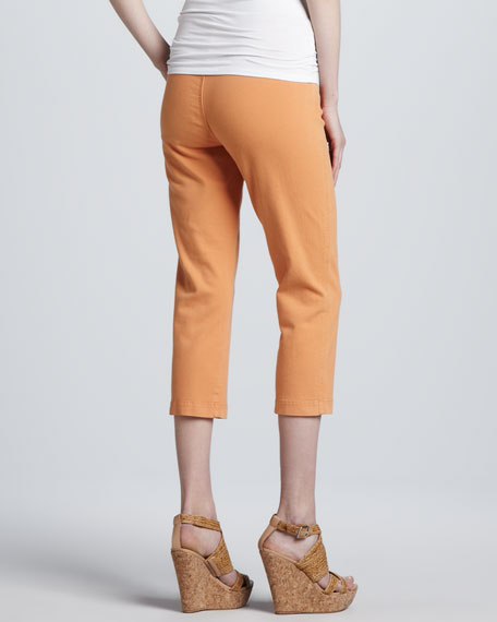 Louise Cropped Control-Top Leggings