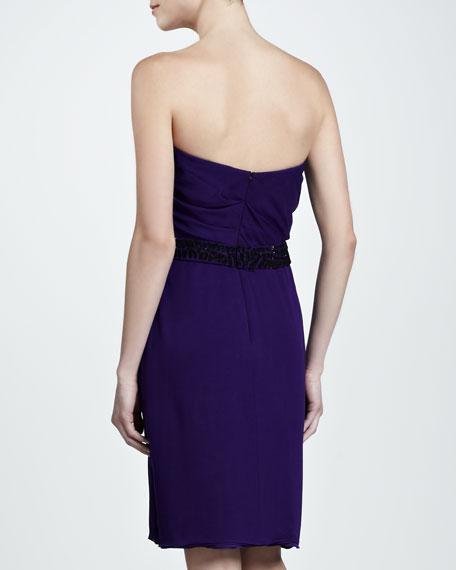 Strapless Mousseline Dress