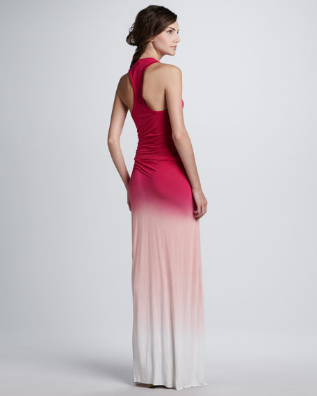 Hamptons Sunset Ombre Maxi Dress