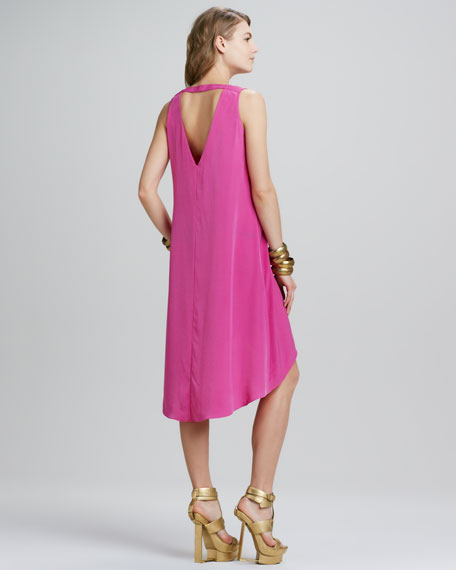 Remy Asymmetric-Hem Dress