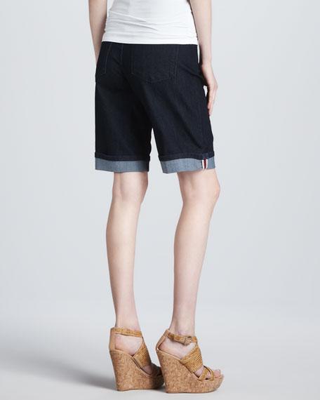 Nicolette Cuff Jean Shorts, Petite