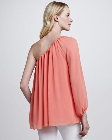 Boheme Single-Sleeve Top