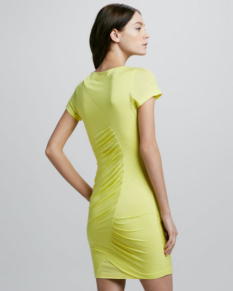 Meela Retwisted Ruched Dress