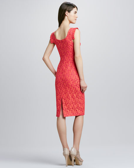 Jackie Cotton Lace Dress
